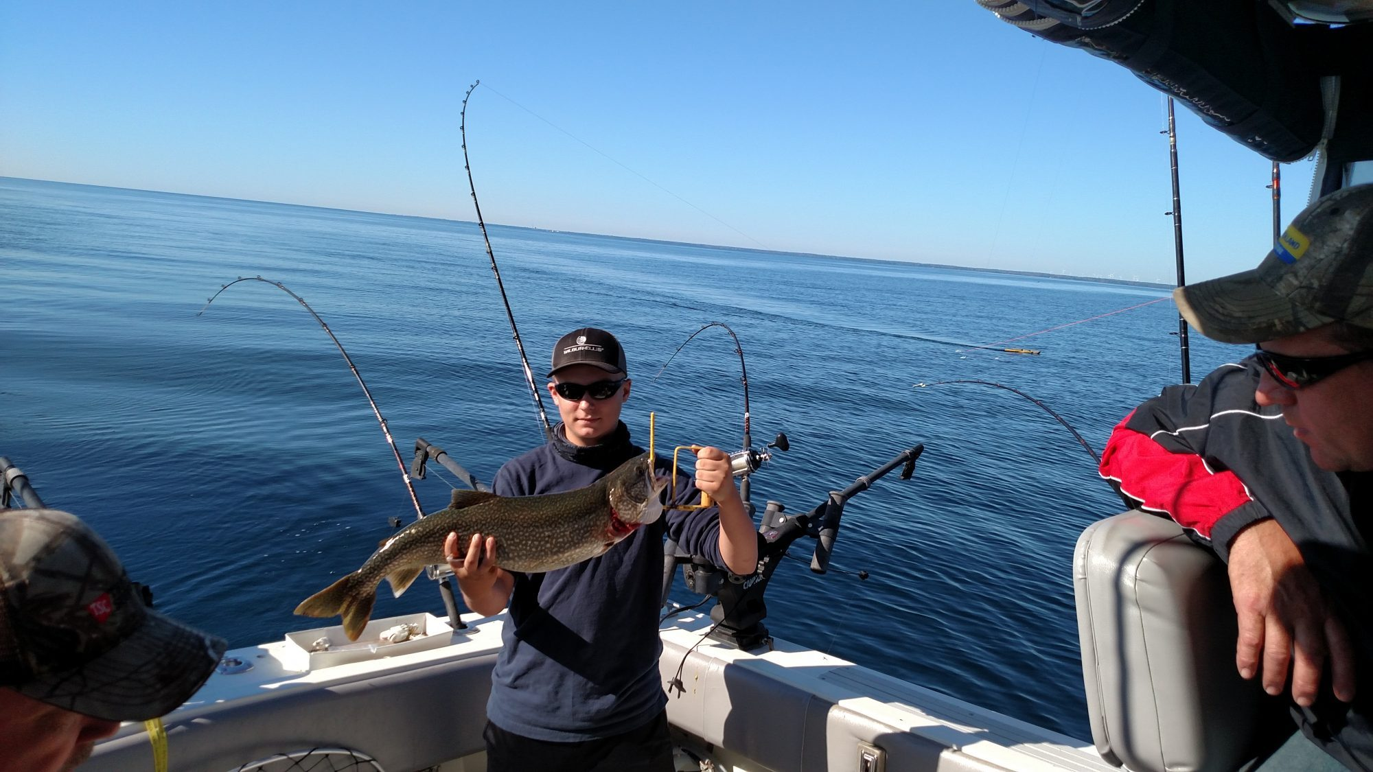 Harbor beach weekly fishing report 07 19 2017 j lyn charters for Weekly fishing report mi