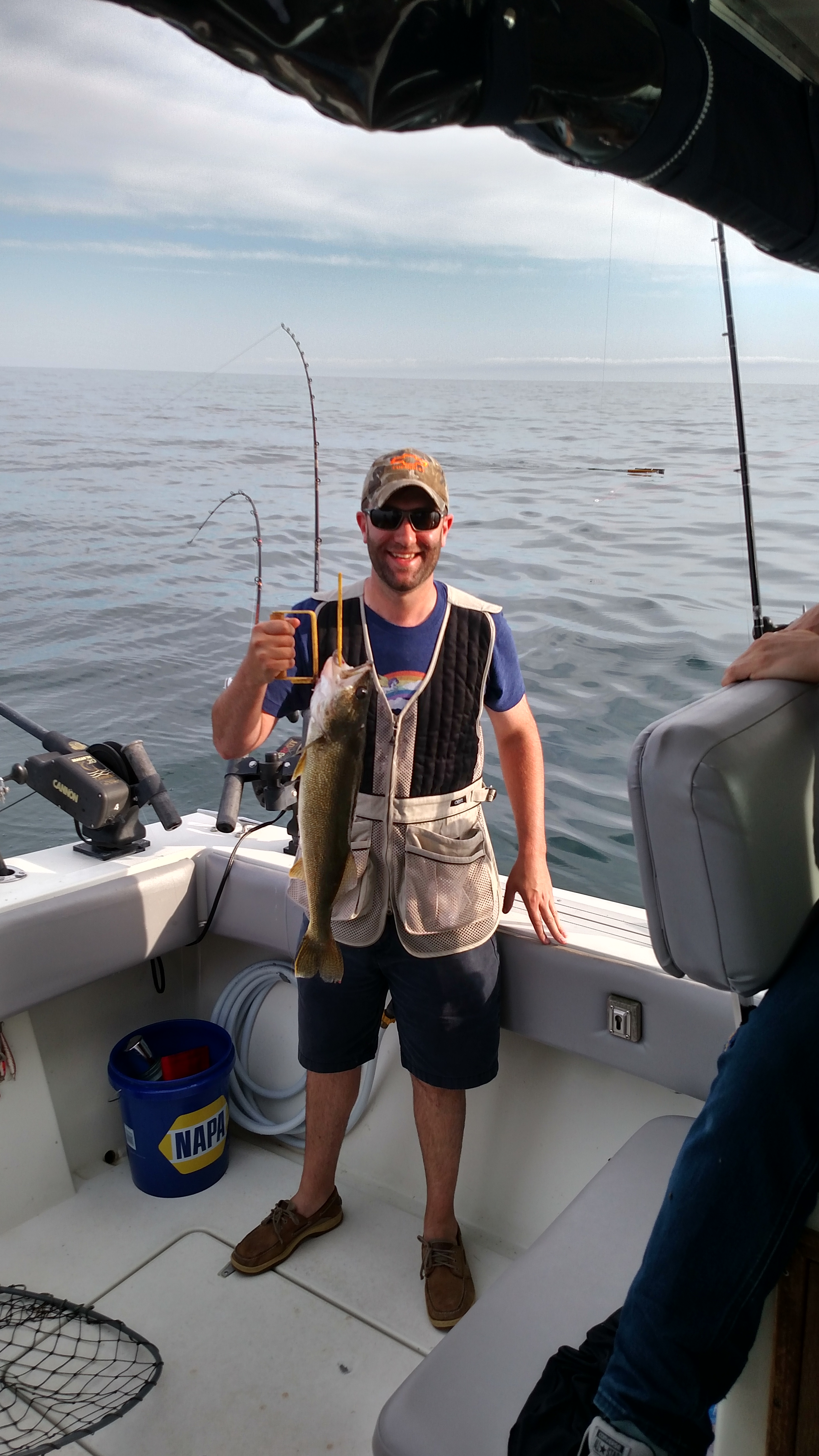 Harbor beach weekly fishing report j lyn charters for Lake huron fishing report